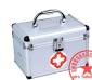 供应急救箱 急救箱空箱 空箱 加厚铝合金出诊箱/家用医药箱 保健箱